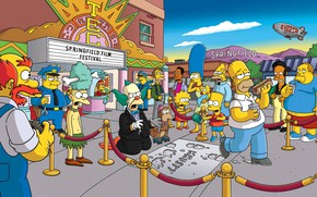 Picture The simpsons, Figure, Homer, Maggie, Maggie, Simpsons, Bart, Art, A lot, Lisa, Cartoon, The Simpsons, …