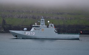 Picture Danish Navy, edge icebreaker, р570