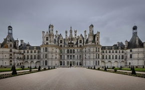 Picture France, architecture, the Loire valley, Chambord Castle