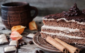 Picture the sweetness, cake, cinnamon, coffee beans