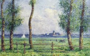 Picture nature, picture, Ferdinand du Puigaudeau, Ferdinand du Plegado, The scenery on the Sea Shore