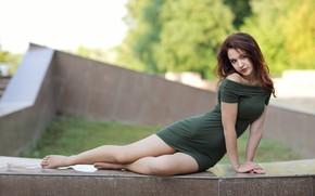 Picture makeup, dress, sponge, the beauty, Murat Kuzhakhmetov
