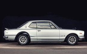 Picture Auto, Machine, Grey, Nissan, Nissan, Car, 2000, Skyline, Nissan Skyline, Metalik, 2000GT, Japanese, Side view, …