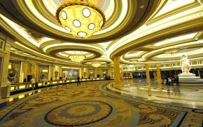 Wallpaper Las Vegas, USA, the hotel, casino, Caesars Palace