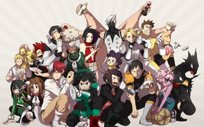 Picture anime, hero, manga, powerful, strong, yuusha, grenade, Boku no Hero Academy, My Hero Academia