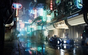 Wallpaper Render, Fan art, Unreal Engine 4, Blade Runner