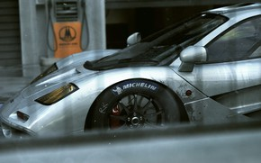 Picture Auto, Machine, Grey, Supercar, Mclaren, Mclaren f1, Colorsponge Carlos