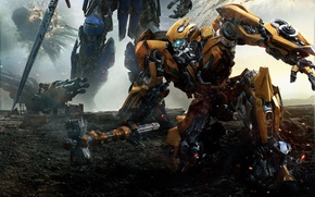 Picture The film, Optimus Prime, Bumblebee, Movie, Transformers: The Last Knight, Transformers: The Last Knight