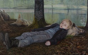 Picture picture, The Island, Norwegian artist, Christer Karlstad