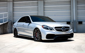 Picture Mercedes, wheels, AMG, E63, COR, lowered