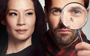 Picture the series, Sherlock Holmes, Johnny Lee Miller, Lucy Liu, Elementary, Elementary, Lucy Liu, Joan Watson, …