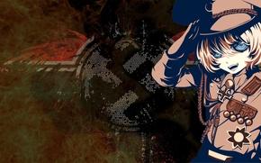 Picture background, anime, girl, Youjo Senki