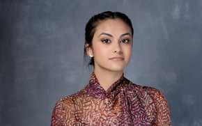 Picture actress, brunette, Camila Mendes