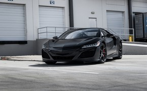 Picture Honda, Black, Acura, NSX, Sight, LED