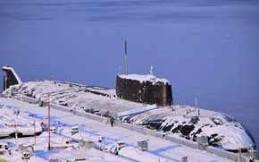 Picture Marina, Submarine, Russia, project, 949A Antey