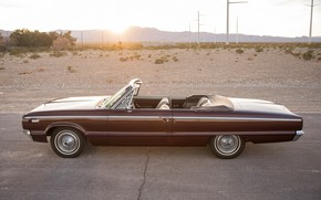 Picture Dodge, 1965, Convertible, Side view, Custom 880