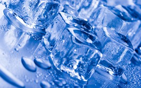 Wallpaper water, water, ice cube, ice cube