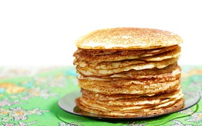 Picture stack, pancakes, Carnival
