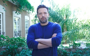 """Picture Ben Affleck, Ben Affleck, at the press conference of the movie """"Payback"""", The Accountant"""