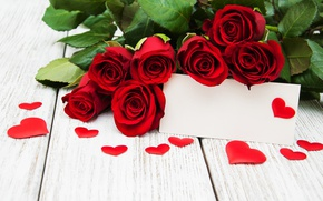Wallpaper red roses, buds, valentine`s day, love, roses, romantic, roses, heart, red, flowers