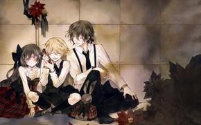 Picture anime, art, Pandora Hearts, characters, Pandora Hearts