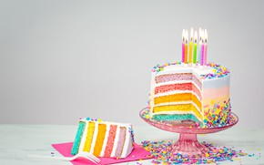 Picture birthday, colorful, cake, cake, Happy Birthday, celebration, candles, decoration