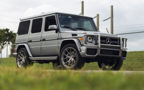 Picture Mercedes, AMG, G63, Silver, W463