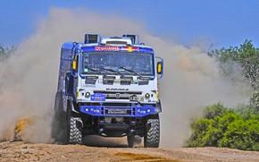 Picture Grass, Dust, Sport, Speed, Race, Master, Dirt, Squirt, Russia, Heat, Kamaz, Rally, Dakar, Dakar, Rally, …