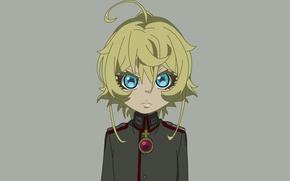 Picture girl, soldier, military, war, anime, blonde, asian, manga, oriental, asiatic, powerful, strong, uniform, seifuku, medal, …