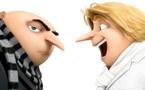 Picture man, blonde, brothers, animated film, Despicable Me, bald, Gru, animated movie, Despicable Me 3, Despicable-Me …