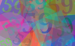 Picture abstraction, figures, color