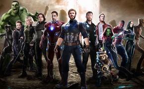 Wallpaper Film, T Challa, Captain America, Captain America, Movie, Zoe Saldana, Hulk, Scarlett Johansson, Clint Barton, ...
