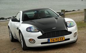Picture Aston Martin, White, Vanquish