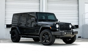 Picture wheels, Rockstar, Wrangler, Jeep, KMC