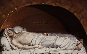 Picture religious painting, Vladimir Lukich Borovikovsky, Christ in the tomb