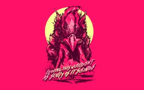 Picture The game, Background, Cock, Miami, Richard, Character, Hotline Miami, Richard, Synthpop, Darkwave, Synth, Retrowave, Synthwave, …