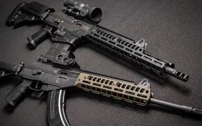 Wallpaper custom, AR-15, AR-15, weapon, Gun, Galil, Custom, Assault rifle, Galil, Assault Rifle, Machine, weapons