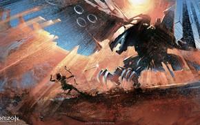 Picture Archer, art, Limited Edition, PlayStation 4, Horizon: Zero Dawn, Artbook