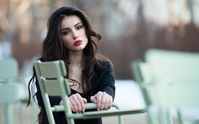 Picture look, face, hair, lipstick, beauty, Ester