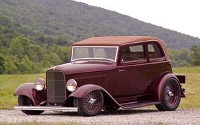 Picture retro, Ford, 1932, Deucenberg, B400