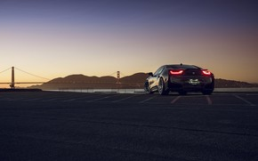 Wallpaper BMW, San Francisco, Rear, I8, Autovault