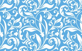 Picture flowers, pattern, texture, seamless background