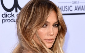 Wallpaper Jennifer Lopez, Jennifer Lopez, makeup, make up, J.Lo, singer, actress, look, pose