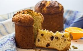 Picture orange, Easter, muffin, cake