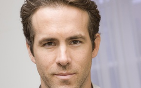 Picture face, portrait, actor, male, Ryan Reynolds, Ryan Reynolds
