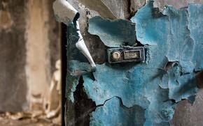 Wallpaper button, wall, call
