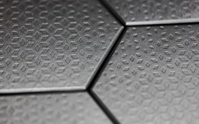Picture plate, metal, cell, diamonds, hexagons, relief, rhombus, diamonds, chasing, punch, embossing