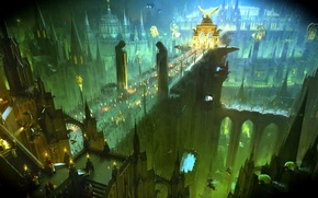 Picture earth, people, human, Imperium of Mankind, Warhammer 40 000, w40k, Holy Terra
