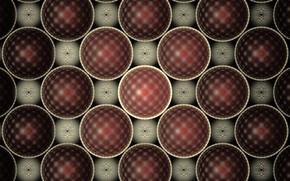 Picture Balls, Circles, Brown