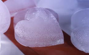 Picture cold, macro, heart, ice